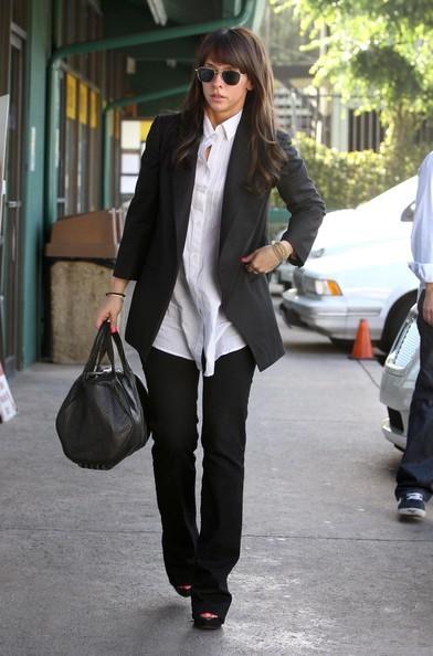 Jennifer Love Hewitt mentre si reca a pranzo da Katsuya, a Los Angeles