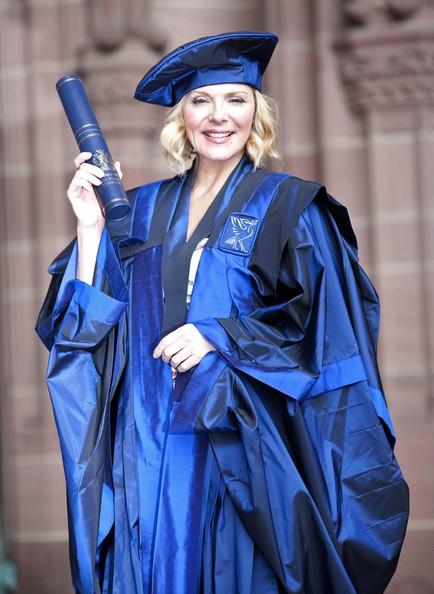 Kim Cattrall riceve la laurea ad honorem