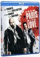 La copertina di From Paris with Love (blu-ray)