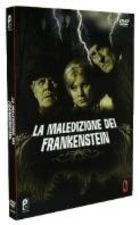 La copertina di La maledizione di Frankenstein (dvd)