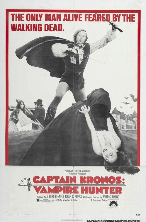 La locandina di Capitan Kronos - Cacciatore di Vampiri