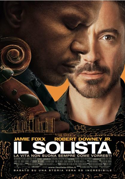 La locandina italiana di Il solista