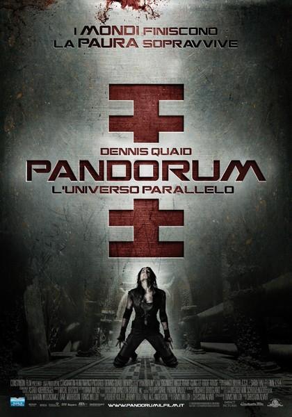 La locandina italiana di Pandorum - L'universo parallelo