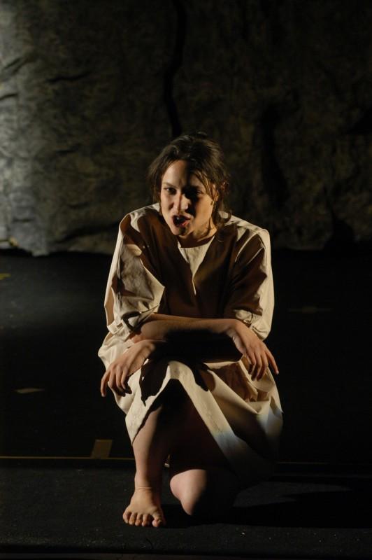 Lorenza Caroleo nel ruolo di Gipsy in Upupa My Dream is My Rebel King di Antonio Orfanò