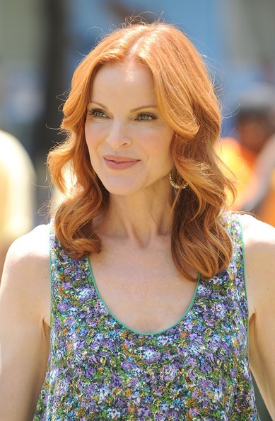 Marcia Cross ad un evento di beneficenza, nel 2010