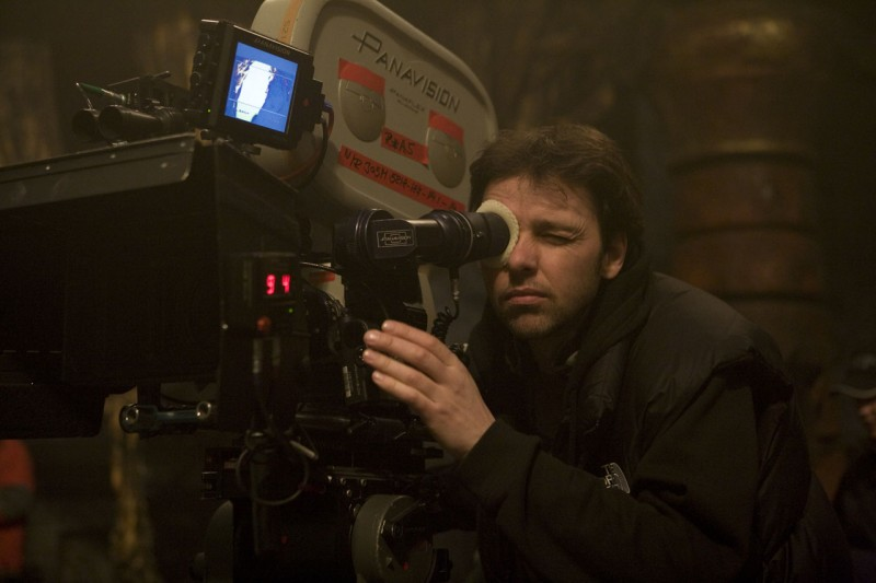 Michael J. Bassett sul set del suo film Solomon Kane