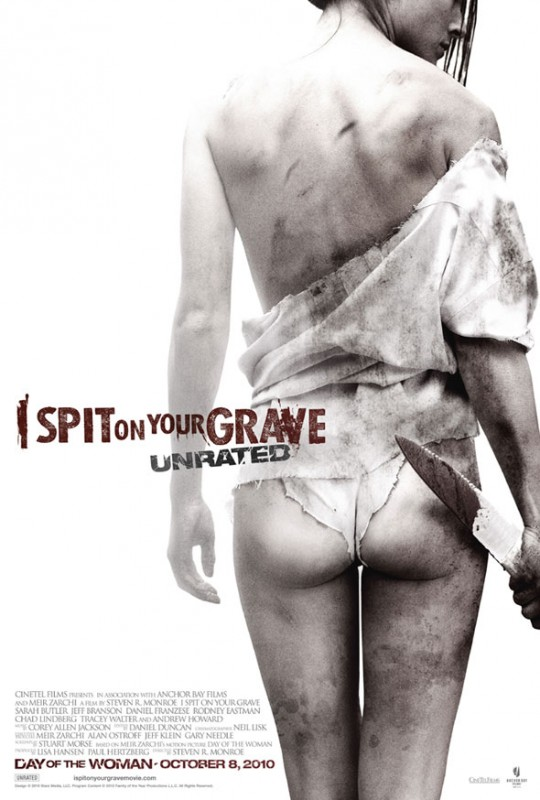 Nuova sexy locandina di I Spit on Your Grave