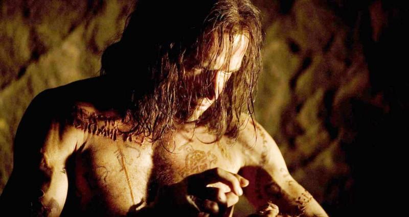 Primo piano di James Purefoy dal film Solomon Kane