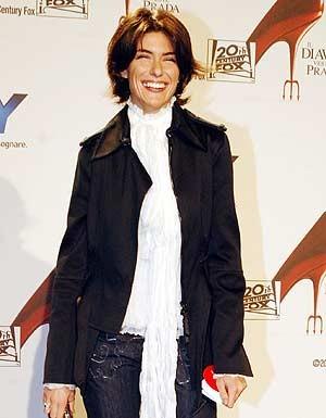 Anna Valle alla premiere de Il diavolo veste Prada