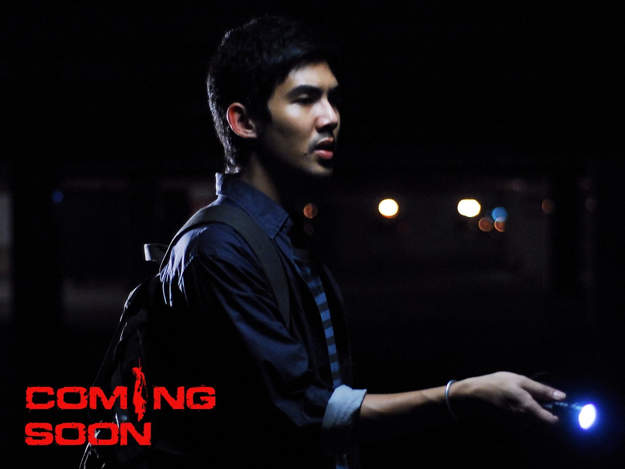 Il poster di Coming Soon dedicato al protagonista Shane