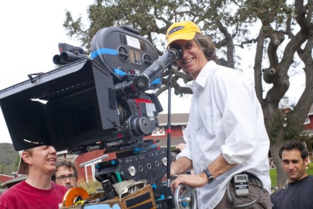 Il regista Jay Roach sul set di Dinner for Schmucks