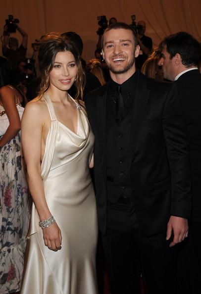 Justin Timberlake e Jessica Biel a una serata di gala