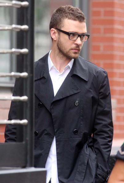 Justin Timberlake in look casual