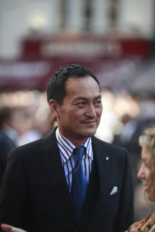 Ken Watanabe alla premiere americana di Inception