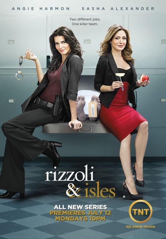 La locandina di Rizzoli & Isles