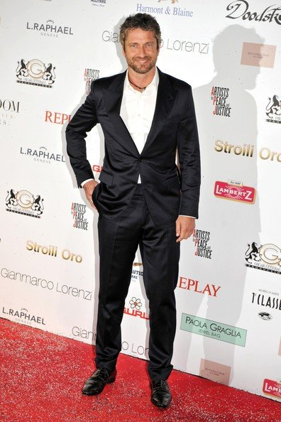 Cannes 2010, Gerard Butler è tra gli ospiti del party Artists for Peace and Justice