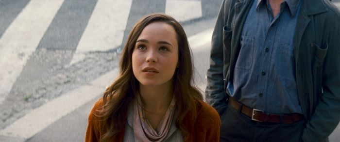 Ellen Page in una scena di Inception
