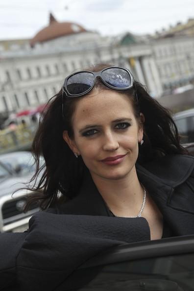 Eva Green in Russia, nel 2010