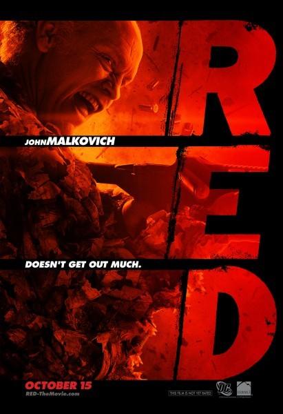 Il poster di John Malkovich in Red