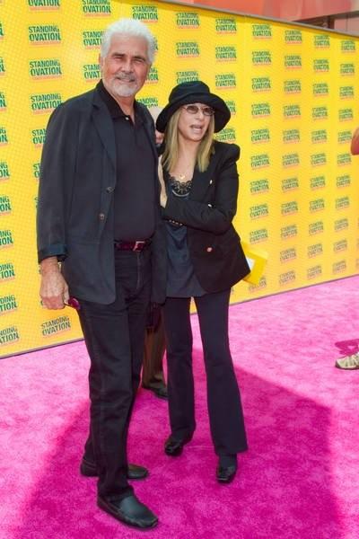 James Brolin e Barbra Streisand alla premiere di Standing Ovation a Los Angeles