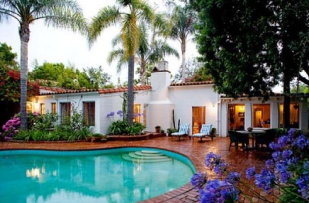 La piscina della casa di Marylin Monroe a Brentwood (LA)
