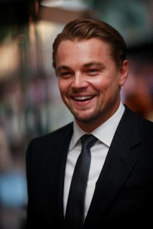 Leonardo DiCaprio alla premiere americana di Inception