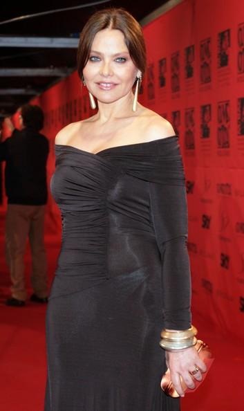Ornella Muti a Cinecittà nel 2007