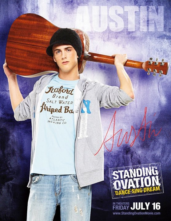 Poster di Standing Ovation dedicato a Austin Powell