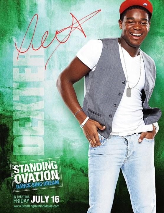 Poster di Standing Ovation dedicato a Dexter Darden