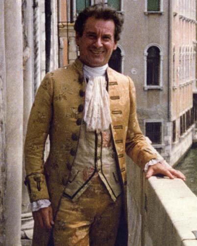 Renzo Martini in versione \'veneziano\'.