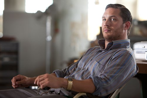 Tom Hardy nel film Inception