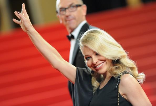 Una biondissima Ornella Muti a Cannes 2010