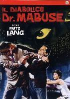 La copertina di Il diabolico Dottor Mabuse (dvd)