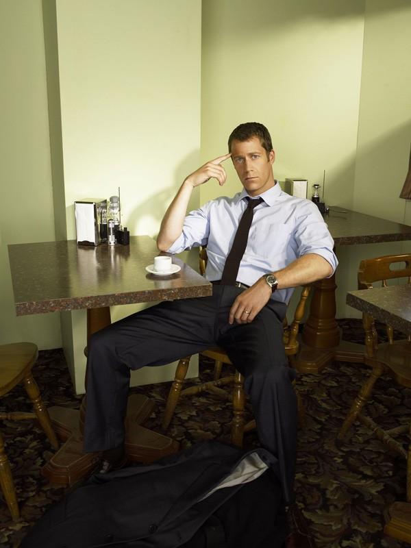 Colin Ferguson è il protagonista della serie tv Eureka