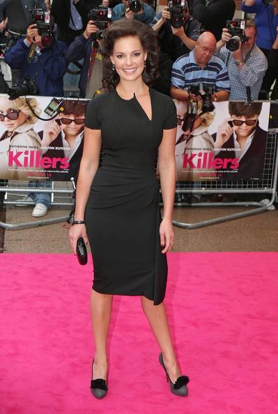 Acconciatura vintage per Katherine Heigl alla premiere londinese di The Killers