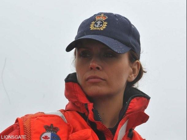 Claudette Mink in una scena della serie canadese The Guard