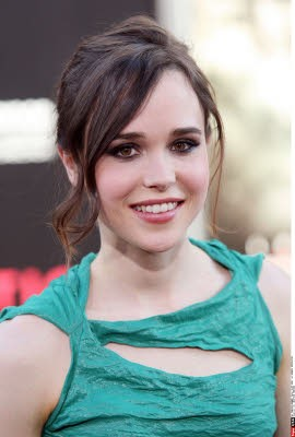 Ellen Page alla premiere di Inception