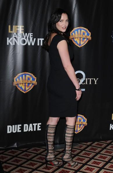 Katherine Heigl ad una presentazione della WB