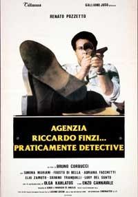 La copertina di Agenzia Riccardo Finzi praticamente detective (dvd)