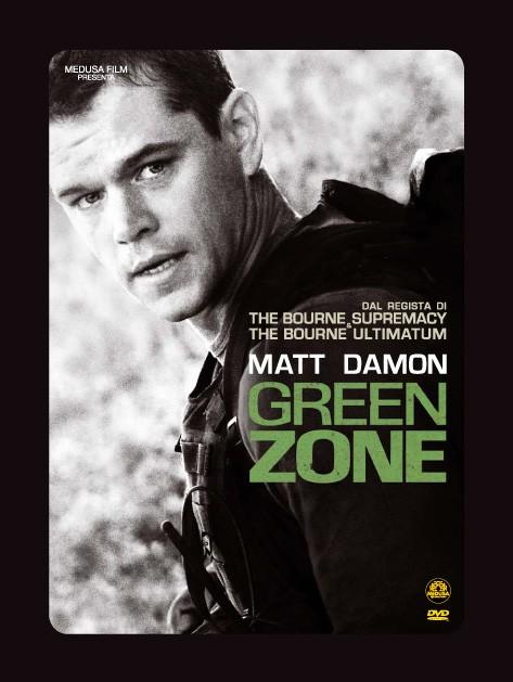 La copertina di Green Zone (dvd)