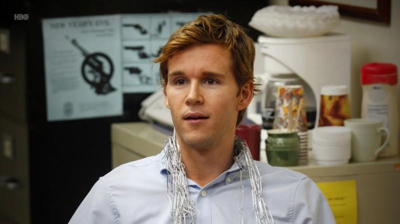 Ryan Kwanten in una scena dell'episodio Trouble di True Blood