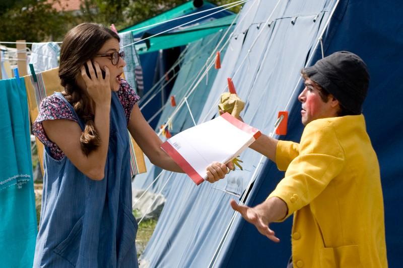 Barbara Ronchi in un'immagine del film La città invisibile