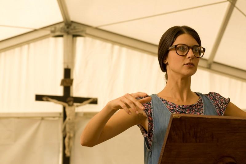 Barbara Ronchi nel film La città invisibile