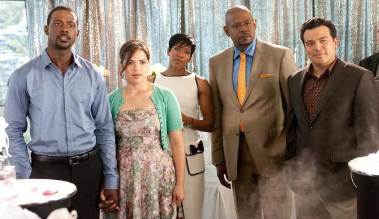 Lance Gross, America Ferrera, Regina King, Forest Whitaker e Carlos Mencia in Our Family Wedding