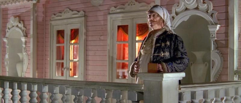 Leonid Kuravlyov  nei panni di Barin nel fantasy russo Il maestro della pietra magica