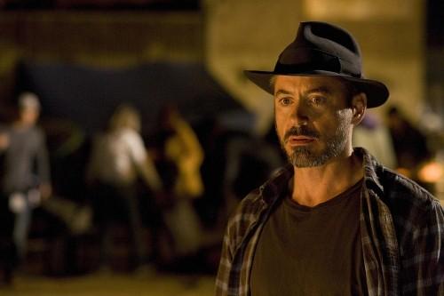 Primo piano di Robert Downey Jr. dal film The Soloist