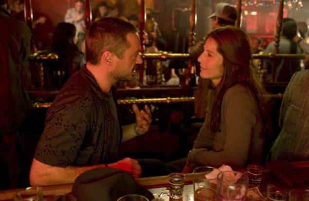 Robert Downey Jr. e Catherine Keener in una scena del film The Soloist