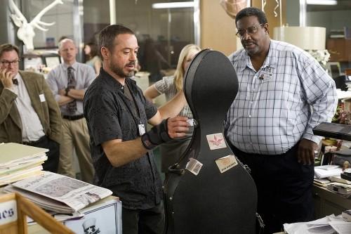 Robert Downey Jr. in una sequenza del film The Soloist