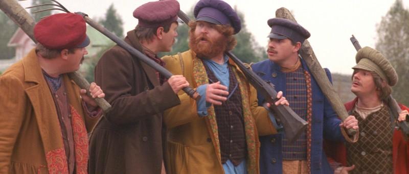 Un'immagine di gruppo tratta dal fantasy russo Il maestro della pietra magica