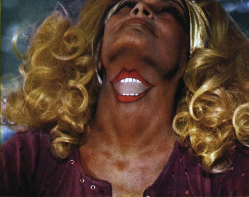 Una sequenza inquietante del film Il delitto del diavolo (1970)